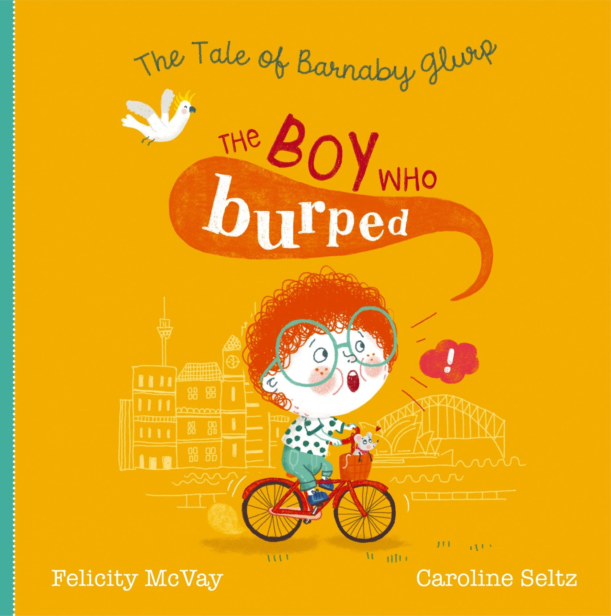 The Boy Who Burped Cover